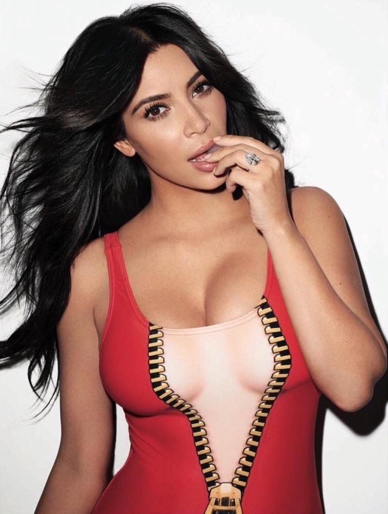 Segunda foto de Kim Kardashian en la revista Rolling Stone Julio 2015