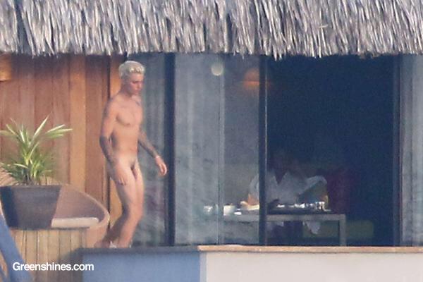 Justin Bieber desnudo