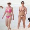 Kelly Brook Topless Big Boobs Bikini Candids On The Beach In Cancun www.GutterUncensored.com 040