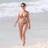 Kelly Brook Topless Big Boobs Bikini Candids On The Beach In Cancun www.GutterUncensored.com 041