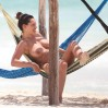 Kelly Brook Topless Big Boobs Bikini Candids On The Beach In Cancun www.GutterUncensored.com 070